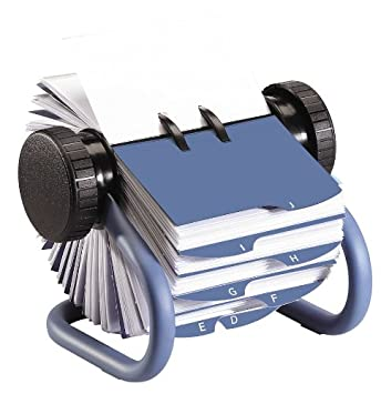 Amazon rolodex open rotary business card file rolodex rolodex open rotary business card file reheart Image collections
