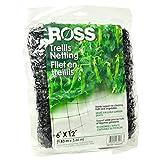 Easy Gardener Ross 16301 12'x6' Trellis Netting, Black