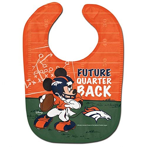 - WinCraft NFL Denver Broncos All Pro Style Baby Bib, One Size, Team Color