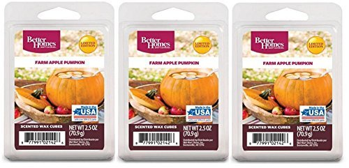 Better Homes and Gardens Farm Apple Pumpkin Scented Wax Cubes - 3-Pack by Better homes & gardens