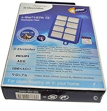 Filtro hepa h13 para aspiradores electrolux z5836 lavable: Amazon.es: Hogar
