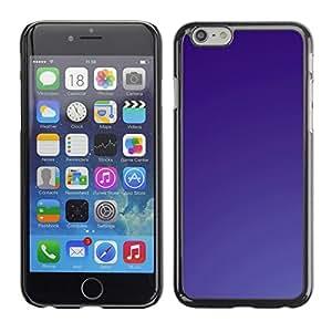 TopCaseStore / la caja del caucho duro de la cubierta de protección de la piel - Simple Purple - Apple iPhone 6