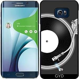 Funda para Samsung Galaxy S6 Edge Plus - Tocadiscos by AnishaCreations