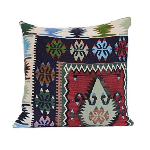 Turkish Kilim Pillow Home Decor Decorative Pillow Home: Amazon.com: 24x24 Kilim Pillow Southwest Pillow Turkish