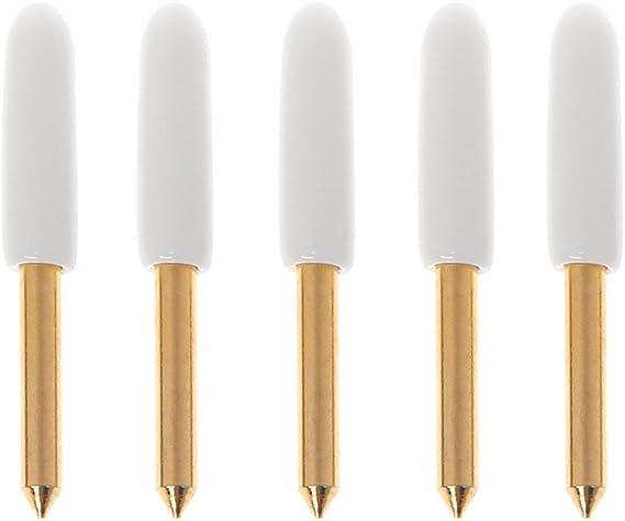 Runrain 5 piezas de plotter de corte de hoja dorada para cortador de vinilo Roland cuchillo de repuesto 24 x 2 mm: Amazon.es: Bricolaje y herramientas