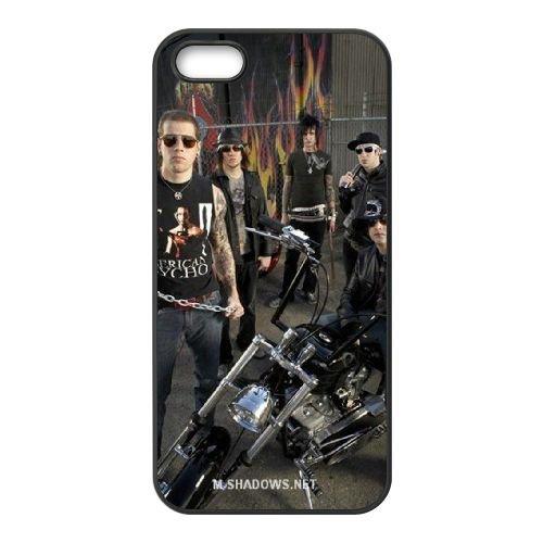 Avenged Sevenfold coque iPhone 4 4S Housse téléphone Noir de couverture de cas coque EBDOBCKCO12951