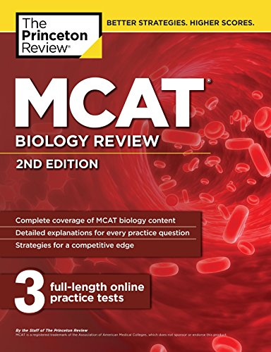 MCAT Biology Review, 2nd Edition (Graduate School Test Preparation)