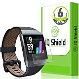 Electronics : Fitbit Ionic Screen Protector (6-Pack), IQ Shield LiquidSkin Full Coverage Screen Protector for Fitbit Ionic Smartwatch HD Clear, Easy Install, Anti-Bubble Film