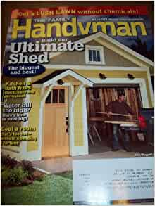 Family handyman july august 2010 lush lawn without for Family handyman phone number