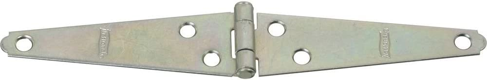 National Hardware N127-365 V280 Light Strap Hinges in Zinc plated 2 pack