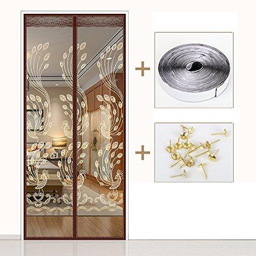 kjtgfc - Puerta magnética de Verano, Puerta magnética, ventilación antimoscas para el hogar, recámara, Cortina de Mute,...