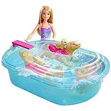 Barbie Swimmin' Pup Pool Set
