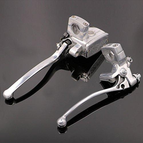 "Motorcycle 1"" Master Cylinder Hydraulic Brake Control Clutch Lever For Harley Electra Glide Police EFI FLHTPI 2006-2009 07 08"