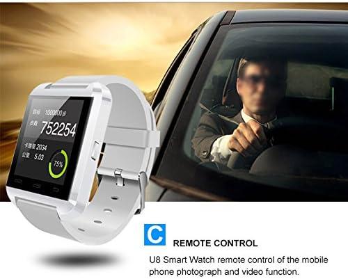 MEMTEQ U8 - SmartWatch, color blanco: Amazon.es: Electrónica