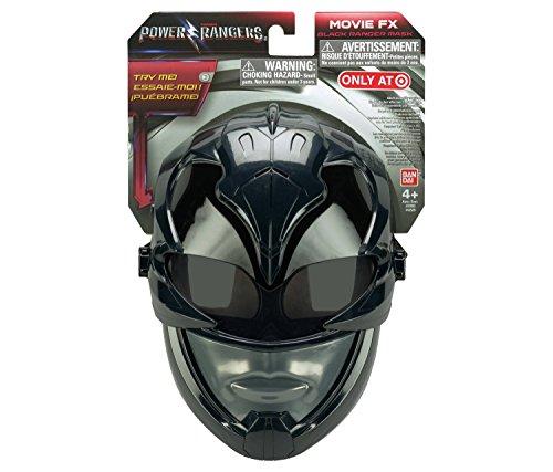 Power Rangers Movie FX Sound effect mask - Black Ranger]()