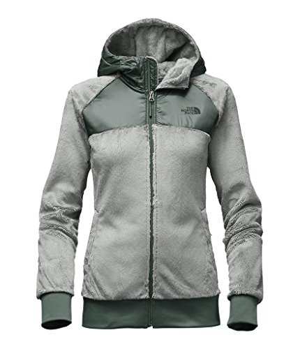 The North Face womens OSO HOODIE NF0A2TEBMQR_S - WROUGHT IRON/BALSAM GREEN