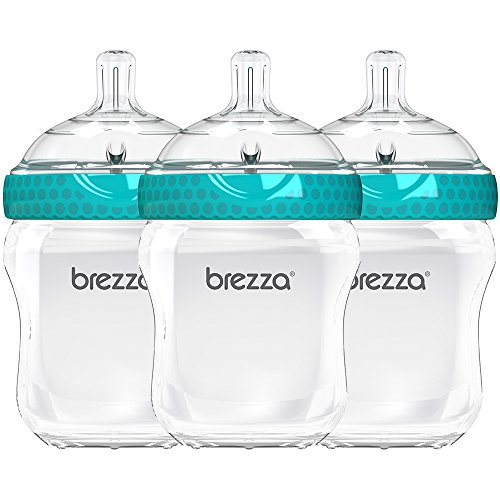 Used, Baby Brezza BPA Free, Anti-Colic Baby Bottle with Lid for sale  Delivered anywhere in USA