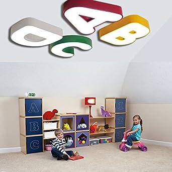 Fighting Schöne Buchstaben Lampe Decke Lampe Kinder Schlafzimmer ...