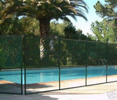 Classic Guard Swimming Pool Fence Child Safety Pool Safety Mesh Fence 4 Feet Tall and 12 Feet Long
