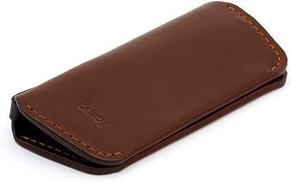 Estuche de piel para llaves Bellroy Key Cover Plus Second Edition (Máx. 8 llaves) - Cocoa: Amazon.es: Oficina y papelería