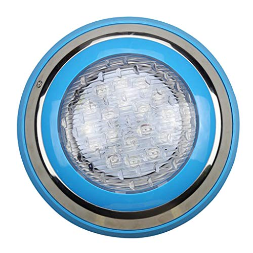 Fityle Swimming Pool LED Light AC 12V/24V 9W/12W RGB Underwater Lights,Stainless Steel, IP68 Waterproof - 18 W by Fityle (Image #3)