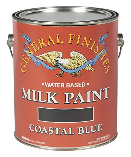 General Finishes Milk Paint (1 Gallon, Coastal Blue)