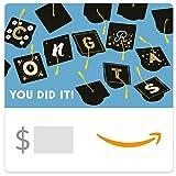 Amazon eGift Card - Graduation Caps