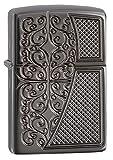 zippo old - Zippo Deep Carved Old Royal Filigree Armor Pocket Lighter