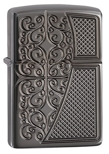 Zippo Deep Carved Old Royal Filigree Armor Pocket Lighter