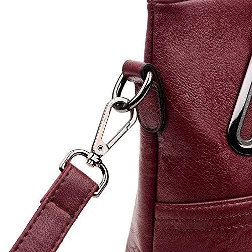 Capacité Pour Longue Xingf Red Bandoulière Décontracté D'âge À Mère Sac Grande Shopping Moyen Le Classique Dame q77U8A
