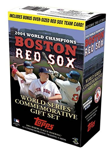 Topps World Series Commemorative Gift set (2004 Topps World Series)