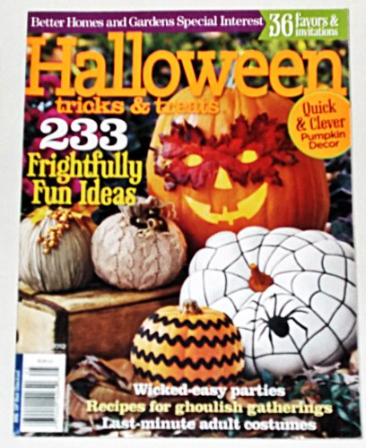 Better Homes and Gardens Halloween Tricks & Treats 2012 (Halloween Costume Ideas Groups)