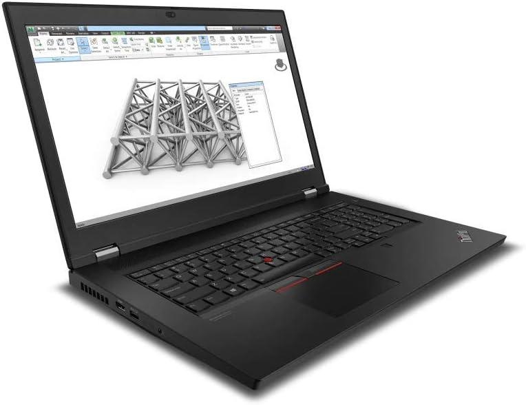 NewLenovo Thinkpad P17 17.3 Inch FHD Mobile Workstation Laptop Intel Xeon W-10855M with vPro, 32GB RAM,1TB SSD, Quadro T2000 Graphics, Webcam, WiFi, Bluetooth, Fingerprint, Windows 10 Pro