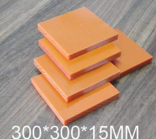 Fevas 15mm Thickness Bakelite Sheet,Phenolic Laminate,30030015MM Phenolic Resin Plate,Insulation Board by Fevas
