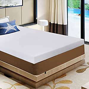 "Giantex 3"" QUEEN SIZE MEMORY FOAM MATTRESS PAD, BED TOPPER 80""x60""x3"""