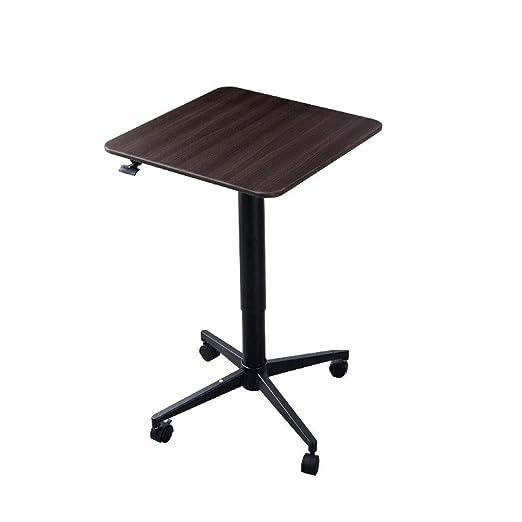 KXGL Compacto De Pie Levantamiento Móvil Mesa para Laptop Altura ...
