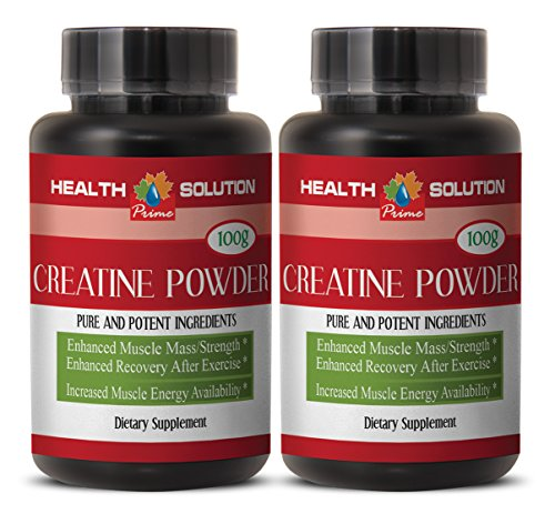 Brain and memory boost - CREATINE 100G - creatine usa - 2 Bottles (Powder)