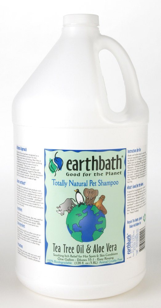 Earthbath Tea Tree Oil & Aloe Shampoo Gal