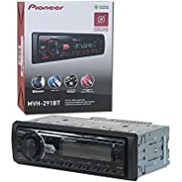 Pioneer 1DIN Car MP3 Digital Media Stereo with USB AUX input and Bluetooth