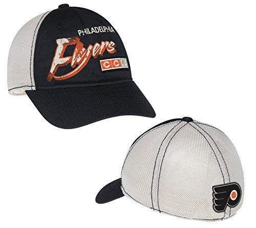 Philadelphia Flyers CCM Distressed Meshback Flex Fit Hat (L/XL)