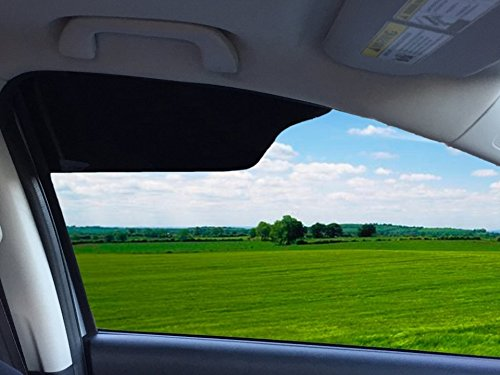 TuckVisor BLACKOUT Windshield Sunshade Best Sun Side Window Shade Visor