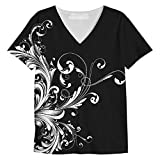 Snoogg Personalized 3D Digitally Printed Tops Casual T shirts for Men / Boys