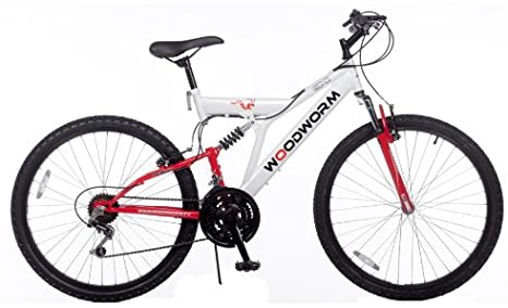 Woodworm GXI PRO - Bicicleta de montaña (doble suspensión, para ...