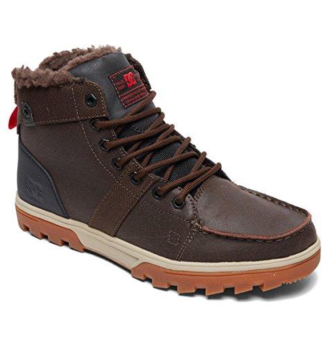 Shoes Stivaletti Brown Imbottitura Senza Woodland Marron Classics MOD Green Black DC Corta M Gamba Uomo a HtdHBwq