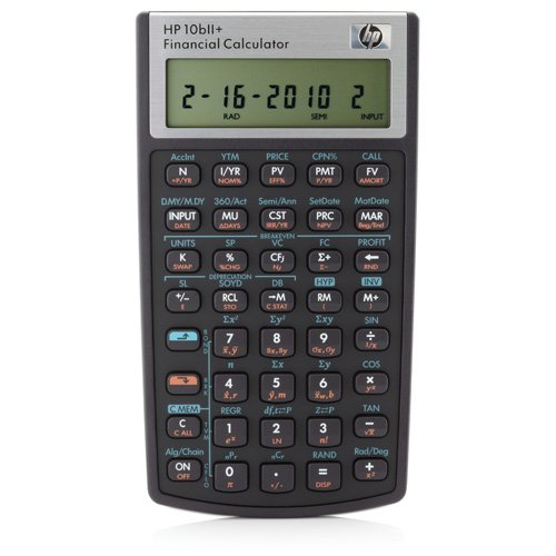 Hewlett Packard (HP) 10bII+ Financial Calculator Ref NW239AA#B12