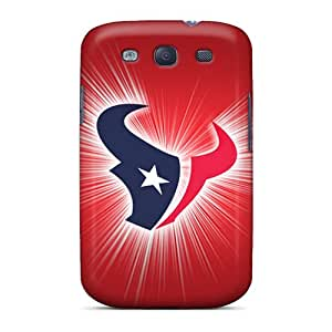Samsung Galaxy S3 VLX13411YFVb Support Personal Customs Vivid Houston Texans Pictures Anti-Scratch Hard Phone Covers -DrawsBriscoe
