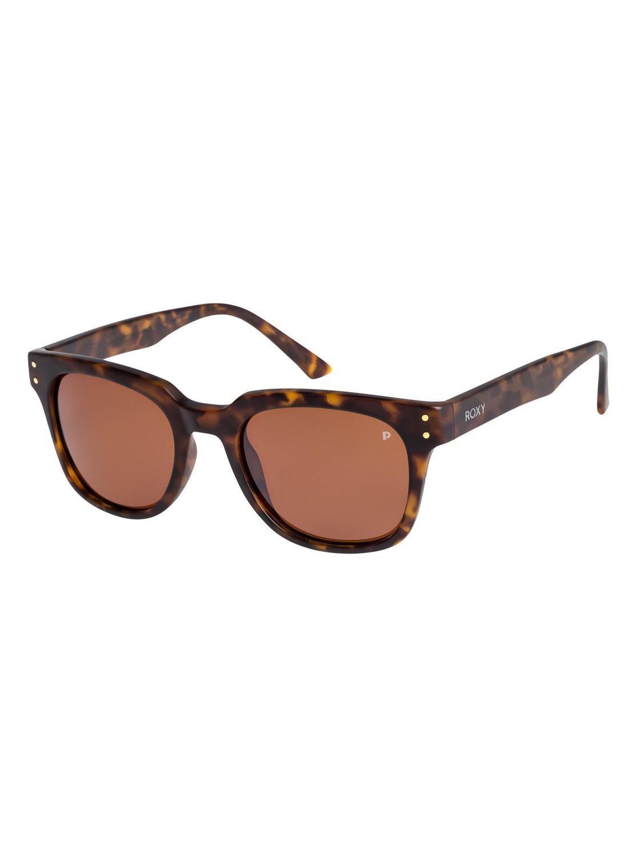 d7c73a11c7 Amazon.com  Roxy Womens Rita Polarized - Sunglasses - Women - One Size -  Multicolor Matte Black Brown Hd Polarized One Size  Sports   Outdoors