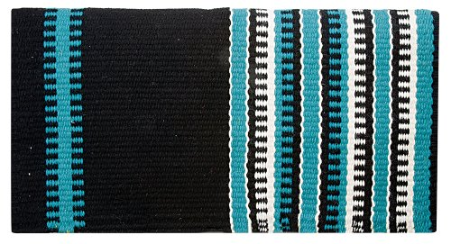 - Weaver Leather Reversible Patterned New Zealand Wool Saddle Blanket
