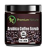 Premium Nature Natural Arabica Coffee Scrub, 8 oz
