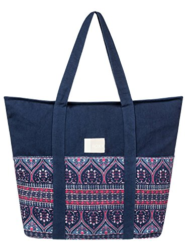 Roxy Womens Folk Singer - Beach Tote Bag - Women - One Size - Multicolor China Blue New Maiden Swim One Size by Roxy (Image #4)